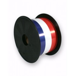 Ruban 70mm Tricolore