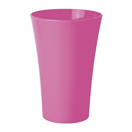 vase cache pot en plastique fuchsia. Black Bedroom Furniture Sets. Home Design Ideas