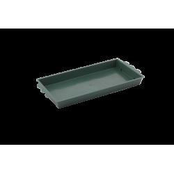 Barquette Rectangle verte pour 1 brique de mousse (x25)