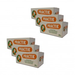 """6 Cartons de Briques de mousse """"PRACTIK"""""""