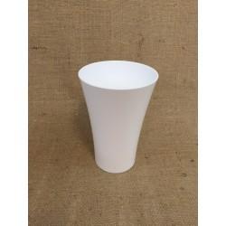 LOT de 12 Paquets de 5 Vases Cache Pot Blanc