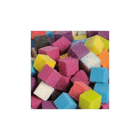 """Cube 2cm   MULTICOULEURS Mousse Polyuréthane """"FLORIDE"""""""