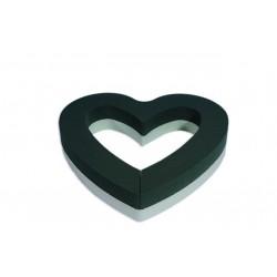 Paquet de 2 Cœurs ouverts (hauteur mousse 4cm + base mousse HD)