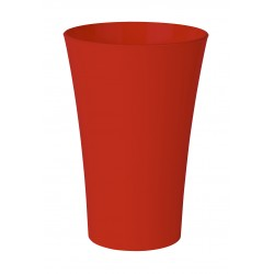 Paquet de 5 Vases Cache Pot Rouge