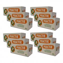 """12 Cartons de Briques de mousse """"PRACTIK"""""""