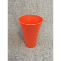 Vases Cache Pot Orange (x5)
