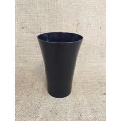 LOT de 12 Paquets de 5 Vases Cache Pot Noir